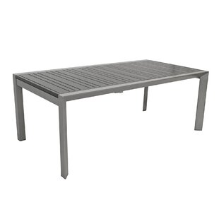 Homou Extendable Aluminium Dining Table By Sol 72 Outdoor