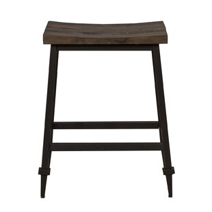 Mannington 24.75 Bar Stool (Set of 2) Gracie Oaks