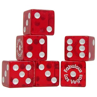 Las Vegas Fabulous Dice (Set of 200) by Trademark Global