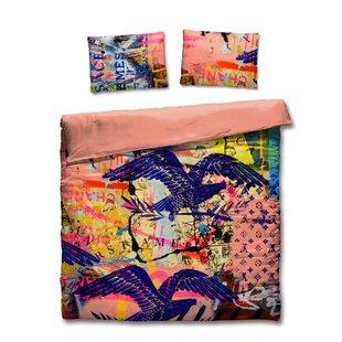 Wrought Studio Pletcher Cotton 3 Piece Duvet Set