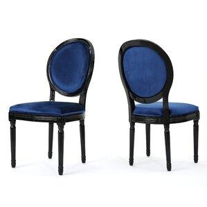 Blue Velvet Dining Chair | Wayfair