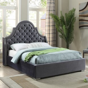 Everly Quinn Grove Upholstered Platform Bed