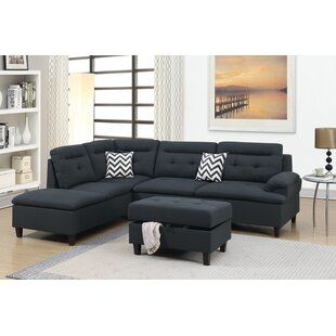 Elmdale Sectional with Ottoman