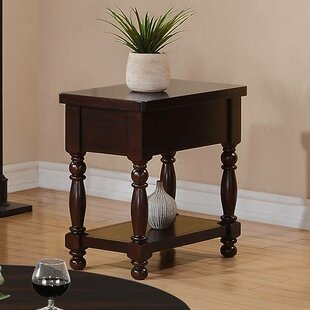Online Reviews Hawkes Chairside Table By Darby Home Co