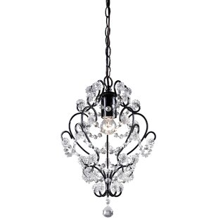 1-Light Crystal Pendant by Sterling Industries