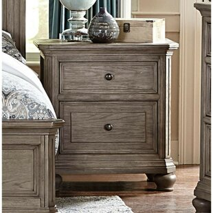 Darby Home Co Beaverton 2 Drawer Nightstand