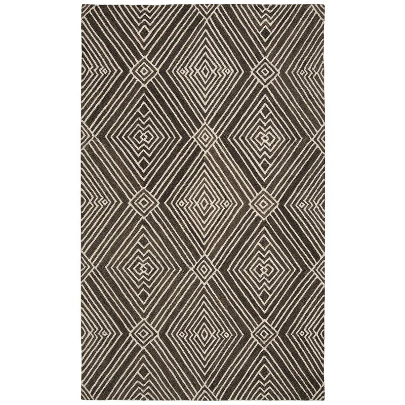 Lauren Ralph Lauren Isabella Hand Tufted Wool Cotton Charcoal Area Rug Reviews Wayfair