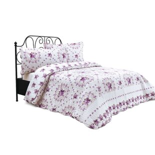 Lucky Bouquet Reversible Quilt Set