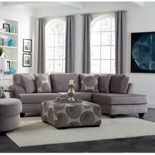 Latitude Run Mcmurray Sectional with Ottoman
