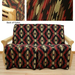 Arizona Box Cushion Futon Slipcover by Easy Fit