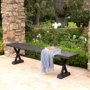 Outdoor table and bench wayfair save watchthetrailerfo