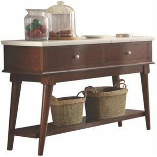 Barthel Two Drawer Wooden Server by Charlton Home