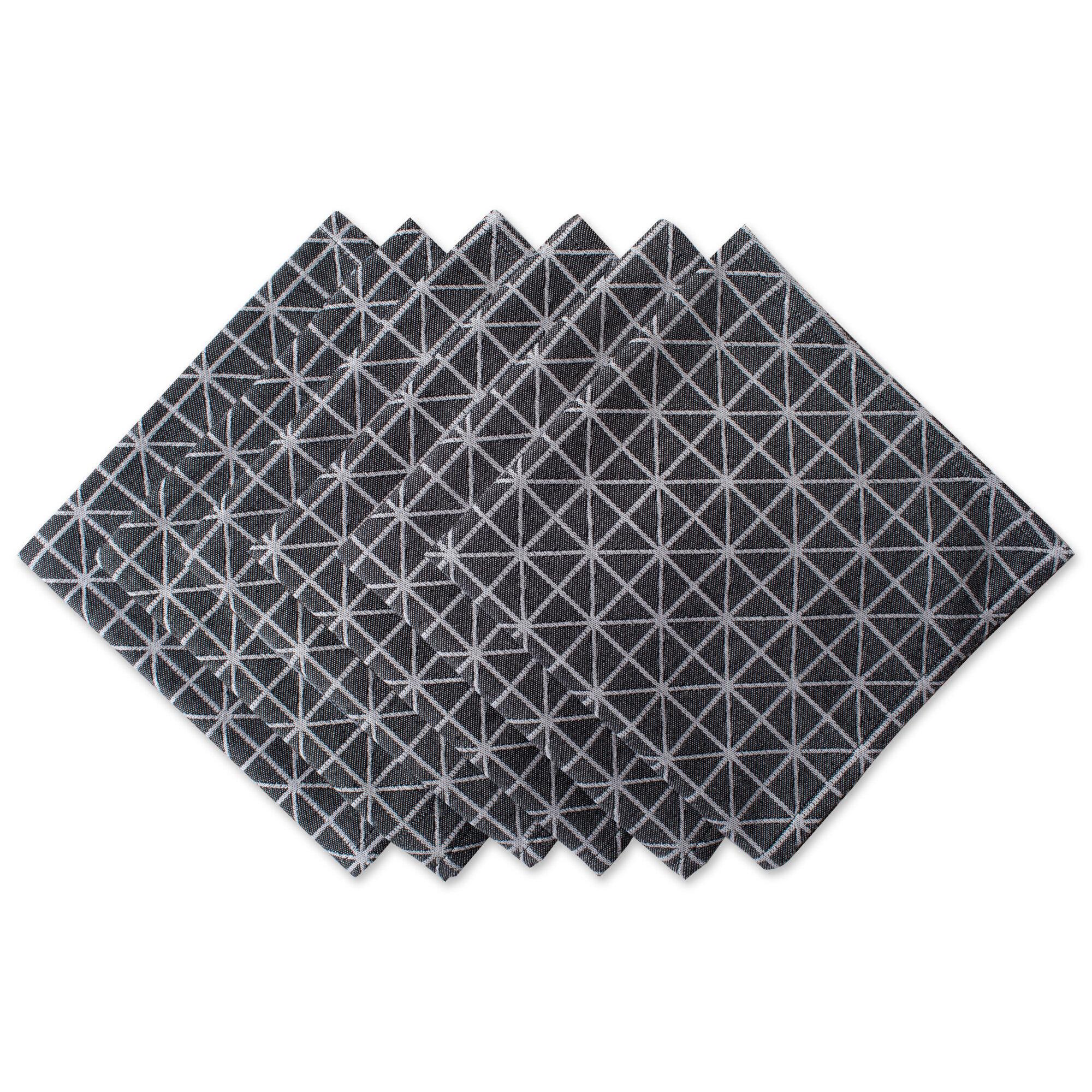 Design Imports 6 Piece Cotton Napkin Set Wayfair
