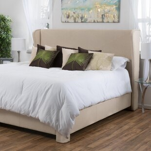 Alcott Hill Bellville King Upholstered Panel Bed