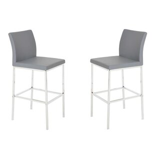 Reasor 30 Bar Stool (Set of 2) Orren Ellis