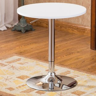 Trautman Adjustable Height Pub Table by Wade Logan