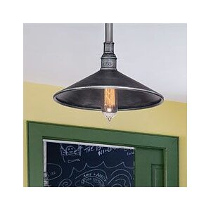 Dileep 1-Light Outdoor Barn Light