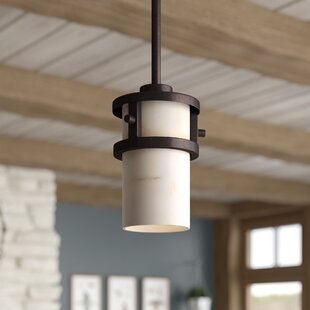 Colby 1-Light Cylinder Pendant by Loon Peak