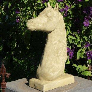 Designer Stone, Inc Horse Head Statue