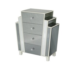 Pamella Art Decor 4 Drawer Accent Chest By House Of Hampton