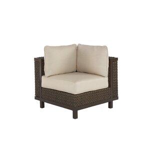 Gracie Oaks Corner chair with Cushions