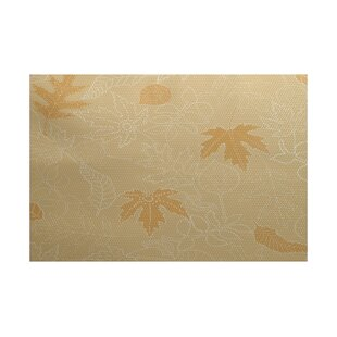 Miller Flatweave Gold Outdoor Area Rug