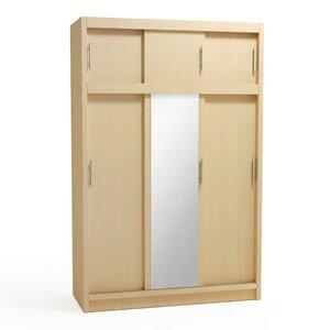 Schiebetürenschrank Cloe, 230 cm H x 150 cm B x 60 cm T von dCor design
