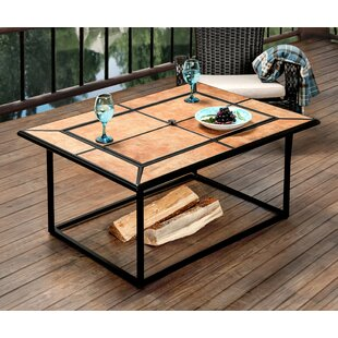 Hokku Designs Samwell Belrouge Cast Iron Charcoal Fire Pit Table