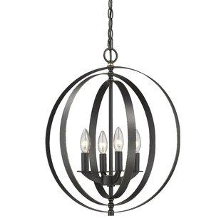 House of Hampton Meisel 4-Light Pendant