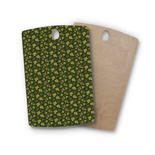 Shop For Holly Helgeson Birchwood Camillia Dark Forest Cutting Board By East Urban Home