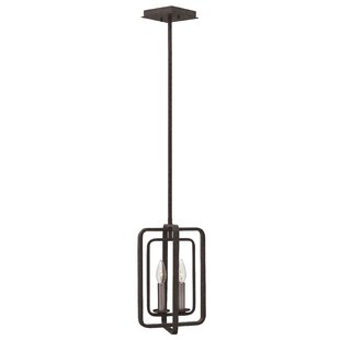 Fernando 2-Light Square/Rectangle Pendant by 17 Stories