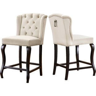 Lawrence Hill 27.5 Bar Stool (Set of 2) by Rosdorf Park