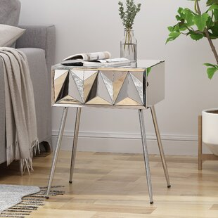 Ferris End Table with Storage by Mercer41