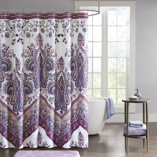 Purple And Teal Shower Curtain. Save to Idea Board  Purple Teal Shower Curtains You ll Love Wayfair