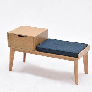 Review Sabrina Wood Storage Bench