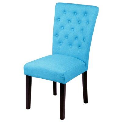 Bellatrix Side Chair Upholstery Color: Frost Blue by Andover Mills