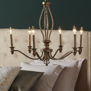 One Allium Way Yacine 6-Light Chandelier