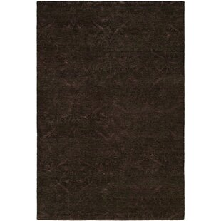 Read Reviews Sihanoukville Hand-Knotted Dark Gray/Purple Area Rug By Wildon Home ®