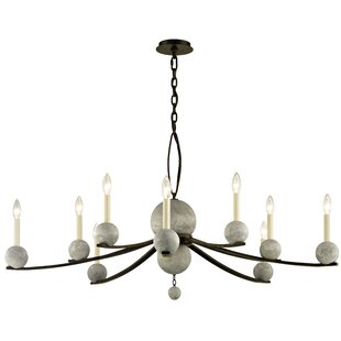 Loon Peak Ogletree 10-Light Chandelier