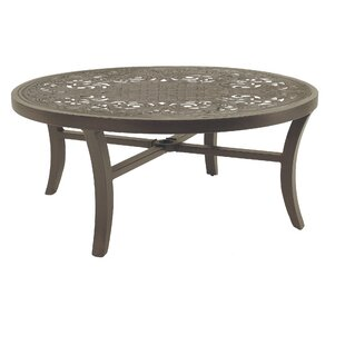Capri Classical Aluminum Coffee Table