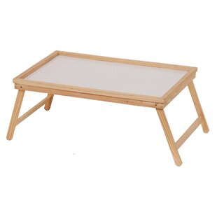 Delicieux Josue Wood Breakfast Tray With Foldable Leg