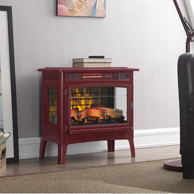 Duraflame Electric 3D Flame Effect Infrared Quartz Electric Stove Finish: Cinnamon