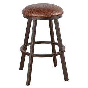 Andre 26 Swivel Bar Stool Millwood Pines