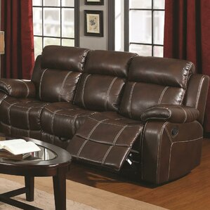Sackler Reclining Sofa by Darby Home Co
