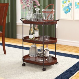Leslie Bar Cart by Three P..