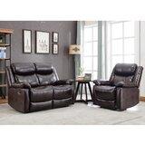 Alisiana 2 Piece Reclining Living Room Set by Red Barrel Studio®