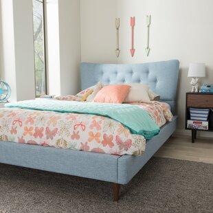 Mizuno Upholstered Platform Bed by Latitude Run