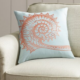 Meadowlakes Seashell Pillow Cover