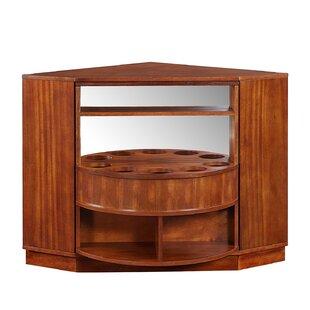Studley Rotating Corner Bar Cabinet