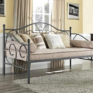 Mikayla Metal Scroll Daybed